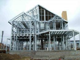 Металлические конструкции для строительства домов