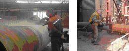 Пескоструйная обработка металлопроката