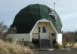 Архитектурное решение дома. Купольная конструкция