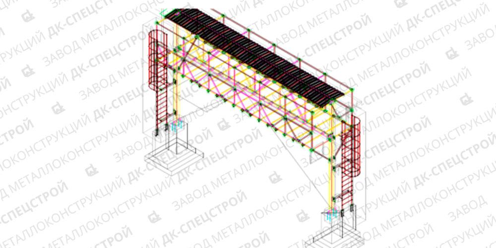 Проект кабельной эстакады — ЛАЭС-1