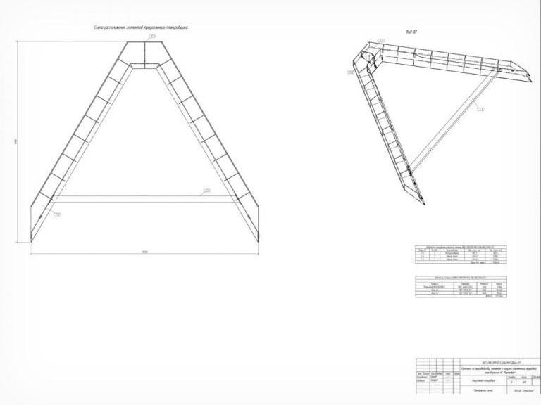 Планировщик треугольный схема