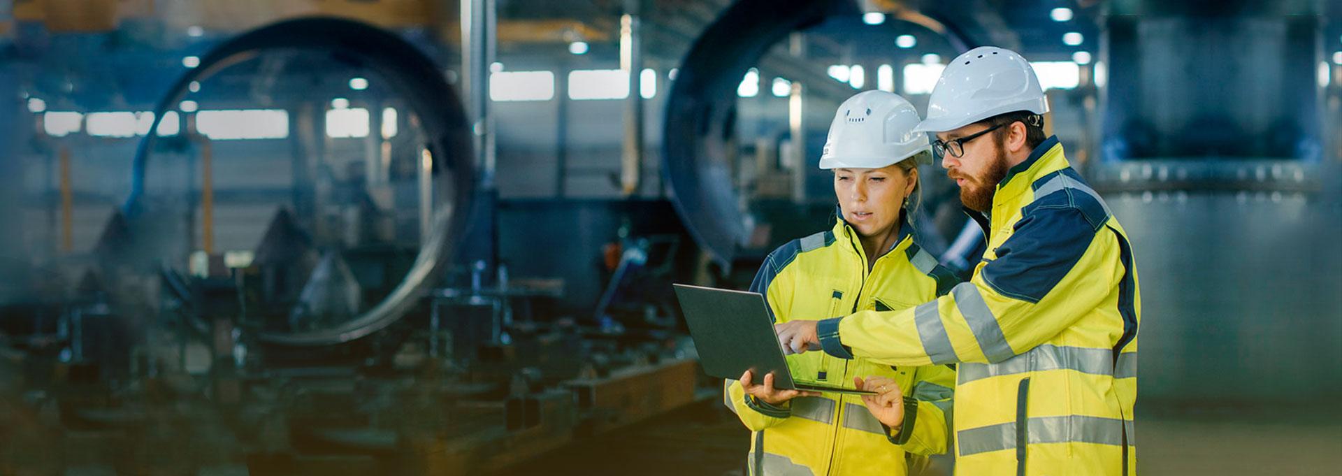 Фоновое изображение работников